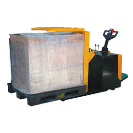 Self Propelled Electric Power Pallet & Skid Inverter - Tilter 2000 Lb Cap