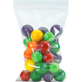 """Economical Self-Seal Bags - 5 x 10"""" - 4 Mil - Case Of 1000"""