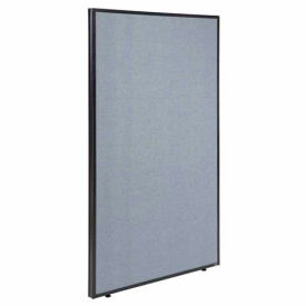 "Office Partition Panel, 48-1/4""W x 60""H, Blue"