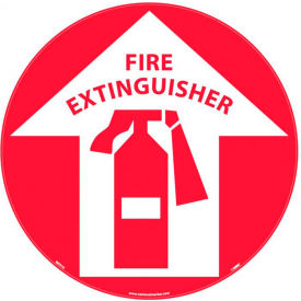 Safety Floor Sign - Fire Extinguisher