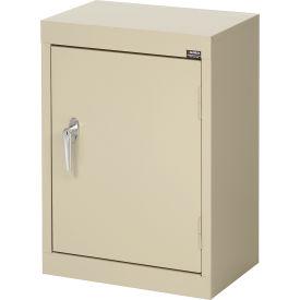 Sandusky Wall Cabinet WA11181226 Single Door - 18x12x26, Putty