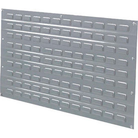 Louvered Wall Panel Without Bins 48x61
