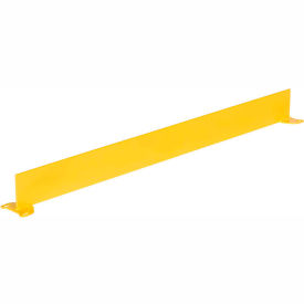 "Square Steel Guard Rail With Toeboard 42""H X 48""L"