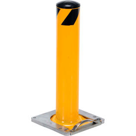"""Removable Steel Bollard With Removable Rubber Cap 42""""H x 5-1/2"""" Dia. Bollard"""