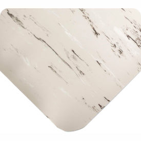 "Antimicrobial Tile Top Antifatigue Mat 7/8"" Thick 24x36 Gray"