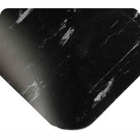 "Antimicrobial Tile Top Antifatigue Mat 1/2"" Thick, 24x36 Black"