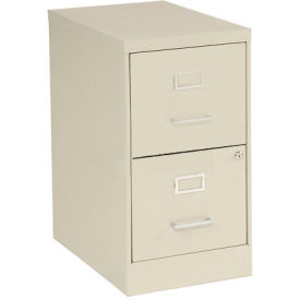 2 Drawer Vertical File-Putty