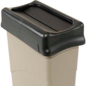 Lid for 16-23 Gallon Rectangular Rubbermaid Trash Can - Black