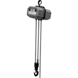 JET Electric Chain Hoist 1 Ton, 20' Lift, 1 Phase 115/230V by