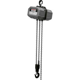 JET Electric Chain Hoist 1 Ton, 20' Lift, 3 Phase 230/460V by
