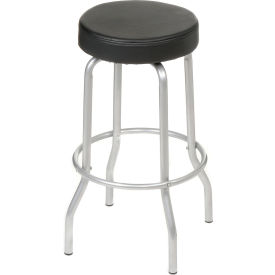 Swivel Stool - Vinyl - Black