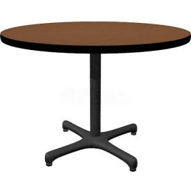 "42"" Round Lunchroom Table - Walnut"