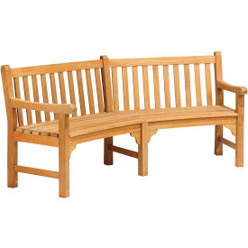 """Essex Curved 83"""" Bench"""