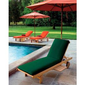 Oxford Garden® Oxford Chaise Cushion - Hunter