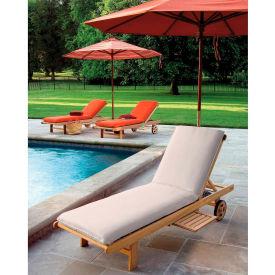Oxford Garden® Oxford Chaise Cushion - Natural
