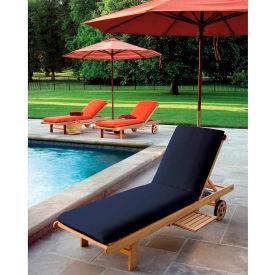 Oxford Garden® Oxford Chaise Cushion - Navy