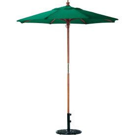Oxford Garden® Market Outdoor Umbrella 6' - (Hunter -poly)