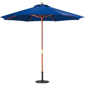 Oxford Garden® Market Outdoor Umbrella 9' - (Navy - poly)