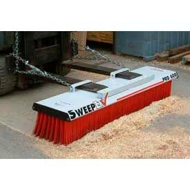 "SweepEx® SPB-600 Pro-Broom Forklift Broom & Sweeper 60""W"