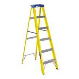 Louisville 6' Fiberglass Step Ladder - 250 lb Cap. - FS2006