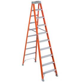 Louisville 10' Fiberglass Step Ladder - 300 lb Cap. - FS151-0