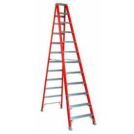 Louisville 12' Fiberglass Step Ladder - 375 lb Cap. - FS1412HD