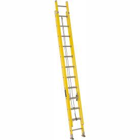 Louisville 24' Fiberglass Extension Ladder - 250 lb Cap. - FE1724