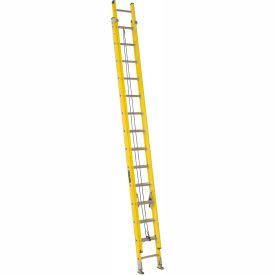 Louisville 28' Fiberglass Extension Ladder - 250 lb Cap. - FE172-8
