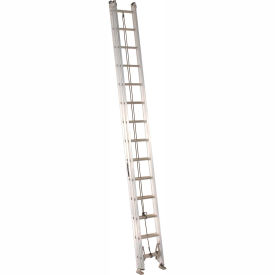 Louisville 28' Aluminum Extension Ladder - 300 lb Cap. - AE2228