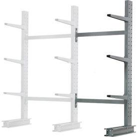 "Cantilever Rack Single Sided Add-On Unit Medium Duty, 48"" W  x 33"" D x 6' H, 8100 Lbs Capacity"