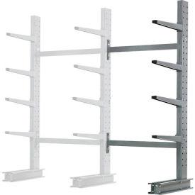 "Cantilever Rack Single Sided Add-On Unit Medium Duty, 48"" W  x 33"" D x 8' H, 5300 Lbs Capacity"