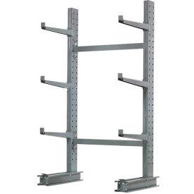 "Cantilever Rack Single Sided Starter Unit Medium Duty, 48"" W  x 33"" D x 6'H, 8100 Lbs Capacity"