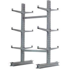 "Cantilever Rack Double Sided, Starter Unit Medium Duty, 48"" W  x 54"" D x 6'H, 16200 Lbs Capacity"