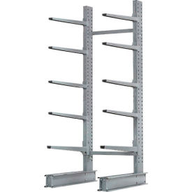 "Cantilever Rack Single Sided Starter Unit Heavy Duty, 72"" W  x 50"" D x 10' H, 10300 Lbs Capacity"