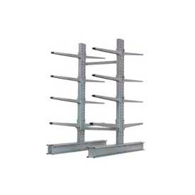 """Cantilever Rack Double Sided Starter Unit Heavy Duty, 48"""" W  x 59"""" D x 8'H, 26600 Lbs Capacity"""