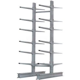 """Cantilever Rack Double Sided Starter Unit Heavy Duty, 72"""" W  x 83"""" D x 10' H,  20600 Lbs Capacity"""