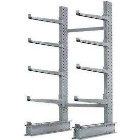 "Cantilever Rack Single Sided Starter Unit Heavy Duty, 48"" W  x 38"" D x 8'H, 13300 Lbs Capacity"