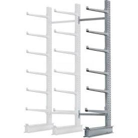 "Cantilever Rack Single Sided Add-On Unit Heavy Duty, 72"" W  x 50"" D x 10' H,10300 Lbs Capacity"