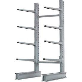 "Cantilever Rack Single Sided, Starter Unit X-HD (4000 Series), 48""W x 37""D x 8'H, 21500 Lbs. Cap"