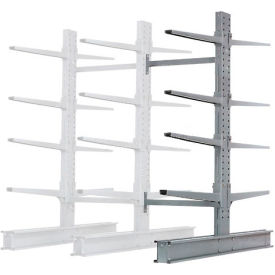 """Cantilever Rack Double Add-On Unit Extra Heavy Duty, 48"""" W  x 65"""" D x 8' H, 43000 Lbs. Capacity"""