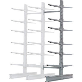"""Cantilever Rack Double Add-On Unit Extra Heavy Duty, 72"""" W  x 82"""" D x 10' H, 31600 Lbs. Capacity"""