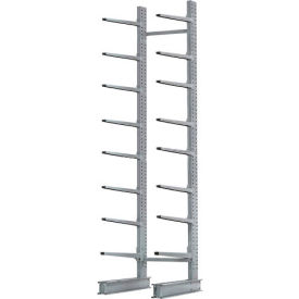 "Cantilever Rack Single Sided, Starter Unit Extra Heavy Duty, 72""W  x 61""D x 12'H, 12500 Lbs Capacity"