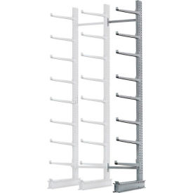 "Cantilever Rack Single Add-On Unit Extra Heavy Duty, 72"" W  x 61"" D x 12' H, 12500 Lbs Capacity"