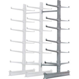 """Cantilever Rack Double Add-On Unit Extra Heavy Duty, 72"""" W  x 82"""" D x 10' H, 31600 Lbs Capacity"""