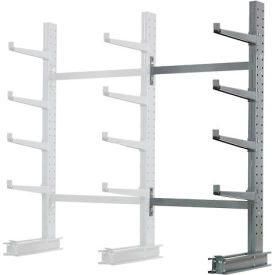 "Cantilever Rack Single Sided, Add-On Unit Medium Duty, 48"" W  x 33"" D x 8' H, 5300 Lbs Capacity"