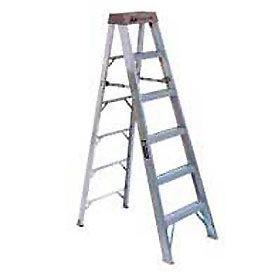 Louisville 8' Type 1A Aluminum Step Ladder - AS100-8
