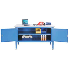 72 x 30 Security Cabinet Bench - Plastic Safety Edge
