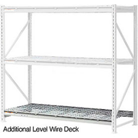 """Additional Level 96""""W x 18""""D Wire Deck"""