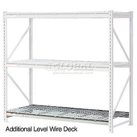 """Additional Level 96""""W x 48""""D Wire Deck"""