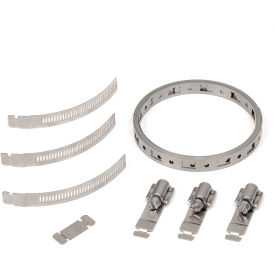 Make-A-Clamp - 8.5 ft bnd,3 adj fast,1 bnd splices - 1 Pack